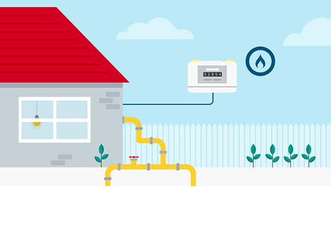 Raccordement au réseau de gaz naturel